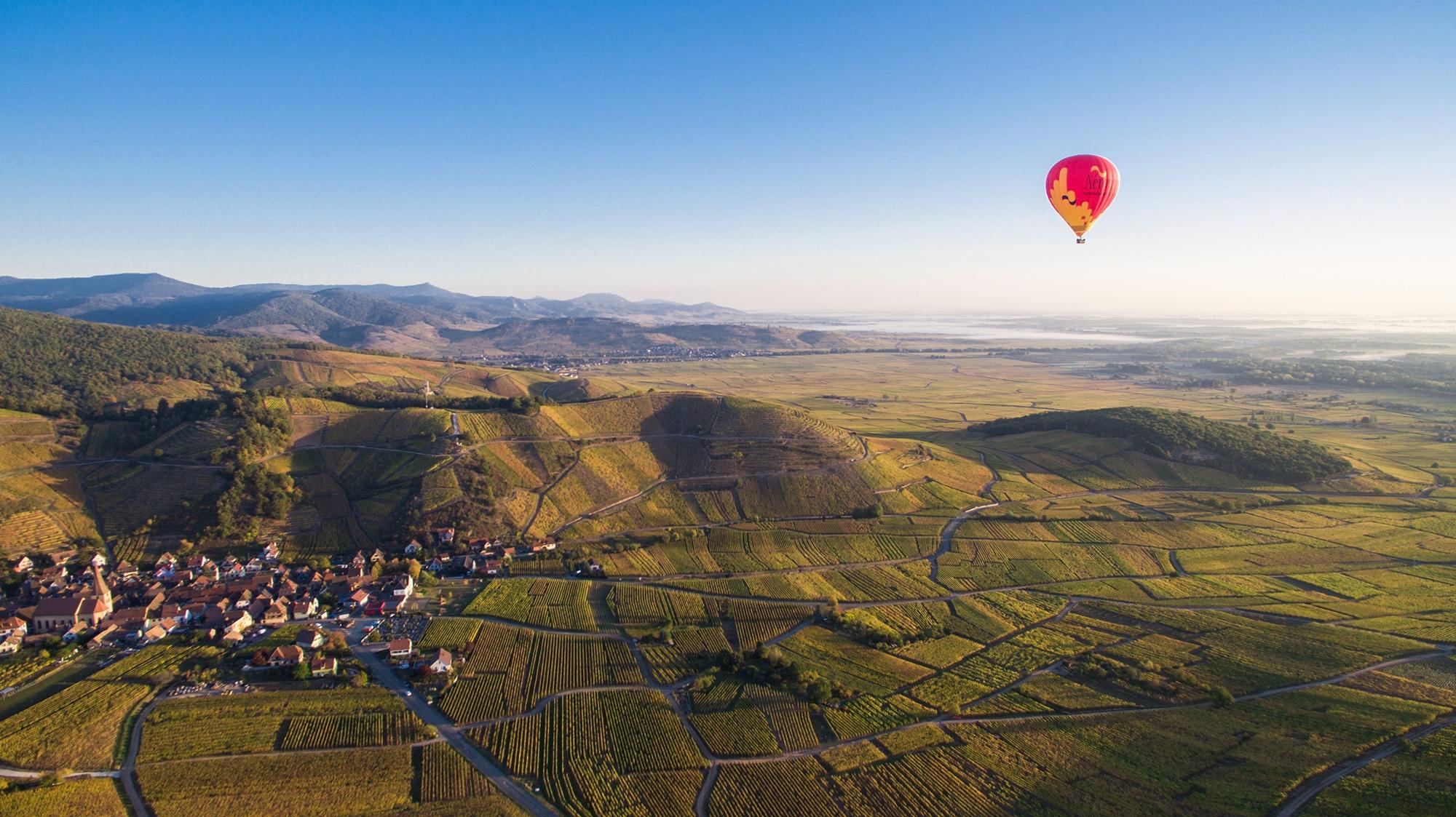 photo montgolfière