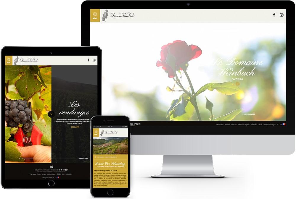 domaine alsace weinbach site internet